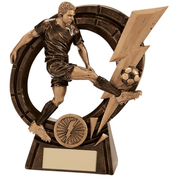 Thunderbolt Striker Football Award Male