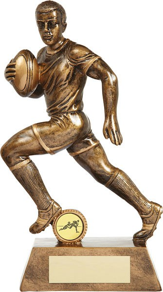 Bronze Rugby Trophy