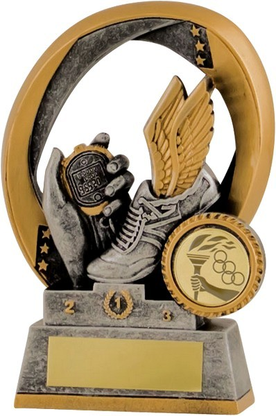 Gunmetal / Gold Athletics Trophy