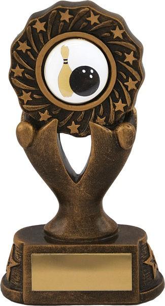 Bronze Tenpin Bowling Trophy