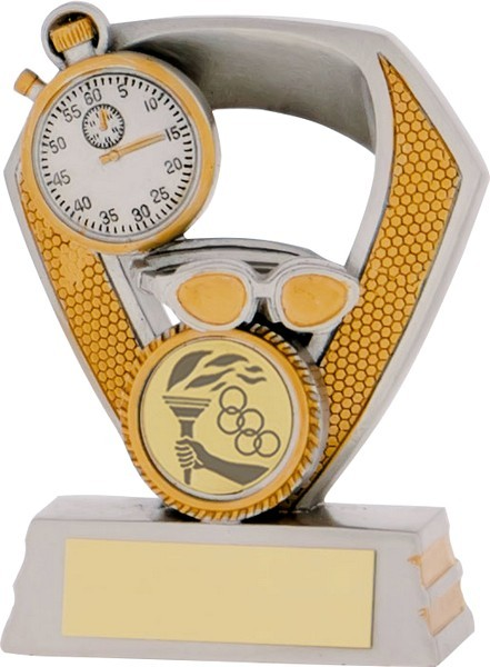 Silver / Gold Swimming Trophy