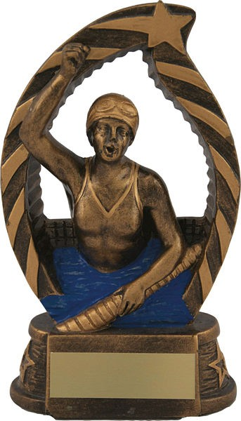Bronze Female Swimming Trophy