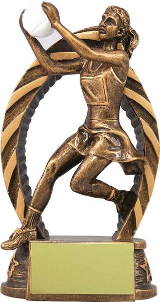 Bronze Netball Trophy