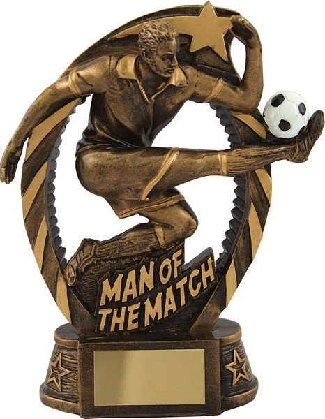 Man Of The Match Football Trophy