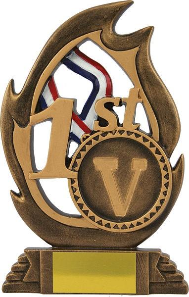 Bronze Flame Trophy