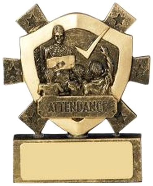 Attendance Mini Shield