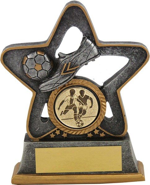 Sliver Football boot in Star Trophy