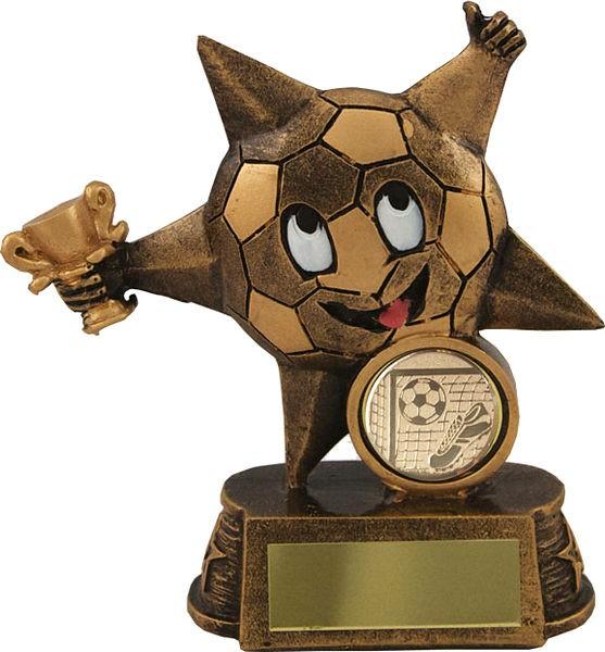 Bronze Star Football Trophy
