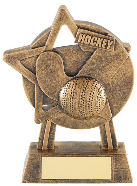 Bronze Hockey Trophy