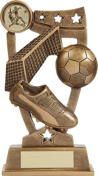 Bronze Three Star Football Trophy