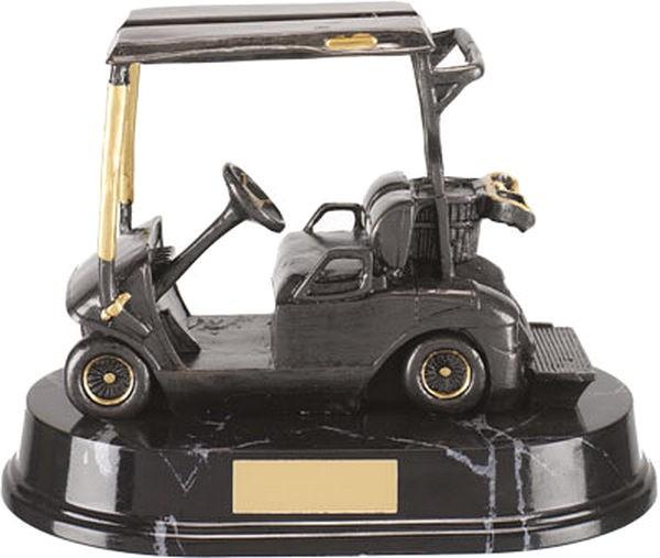 Silver Golf Buggy Trophy