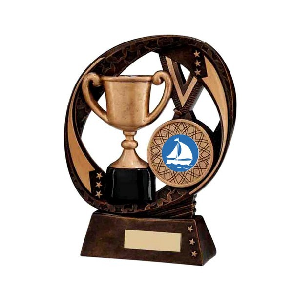 Typhoon Achievement Award with Sailing Insert