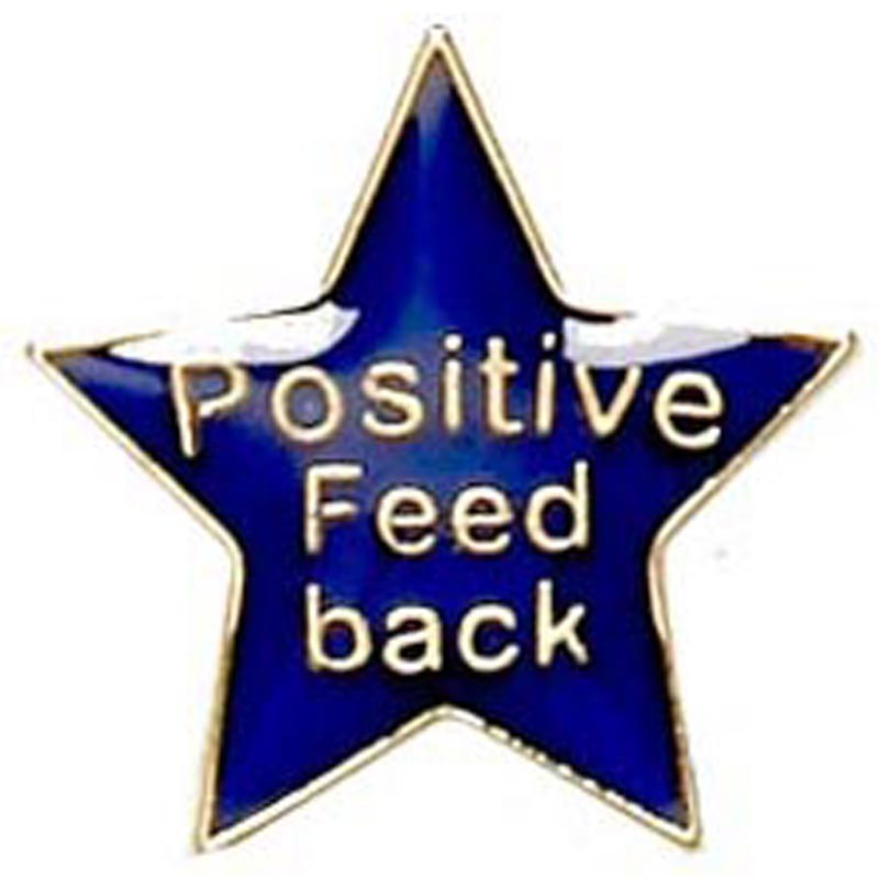 Badge Positive Feedback