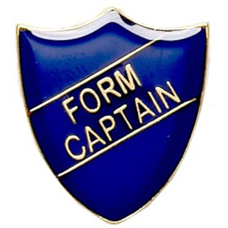 Shield Badge Form Captain