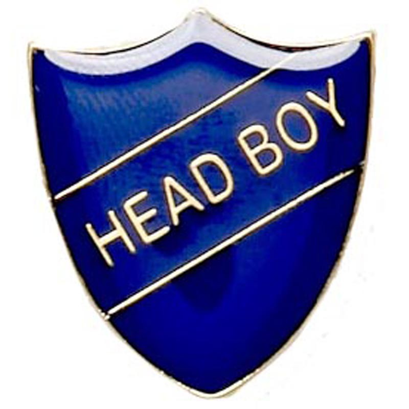 Shield Badge Head Boy