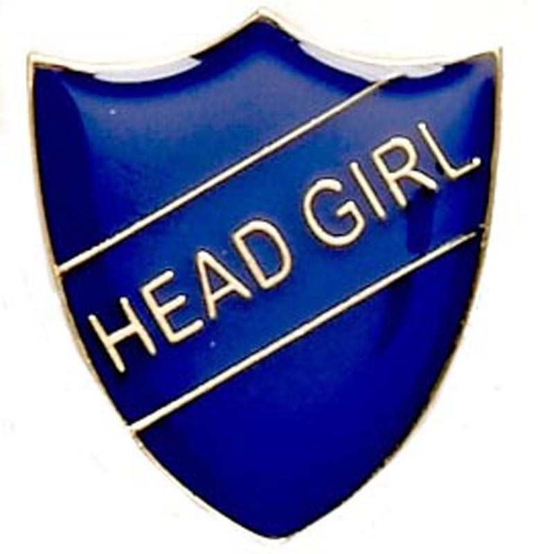 Shield Badge Head Girl