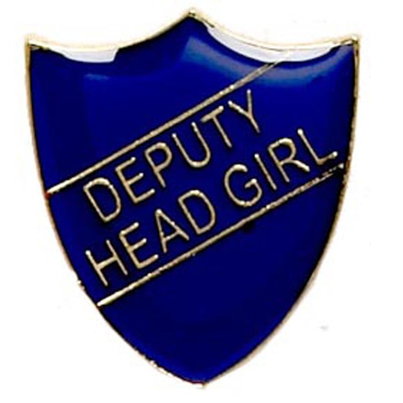 Shield Badge Deputy Head Girl