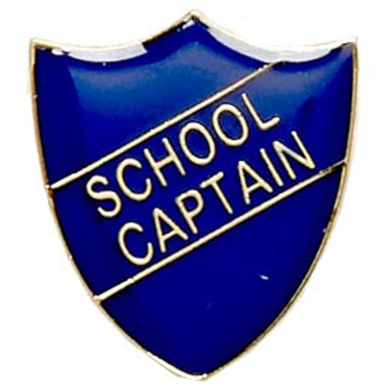 Shield Badge School Captain