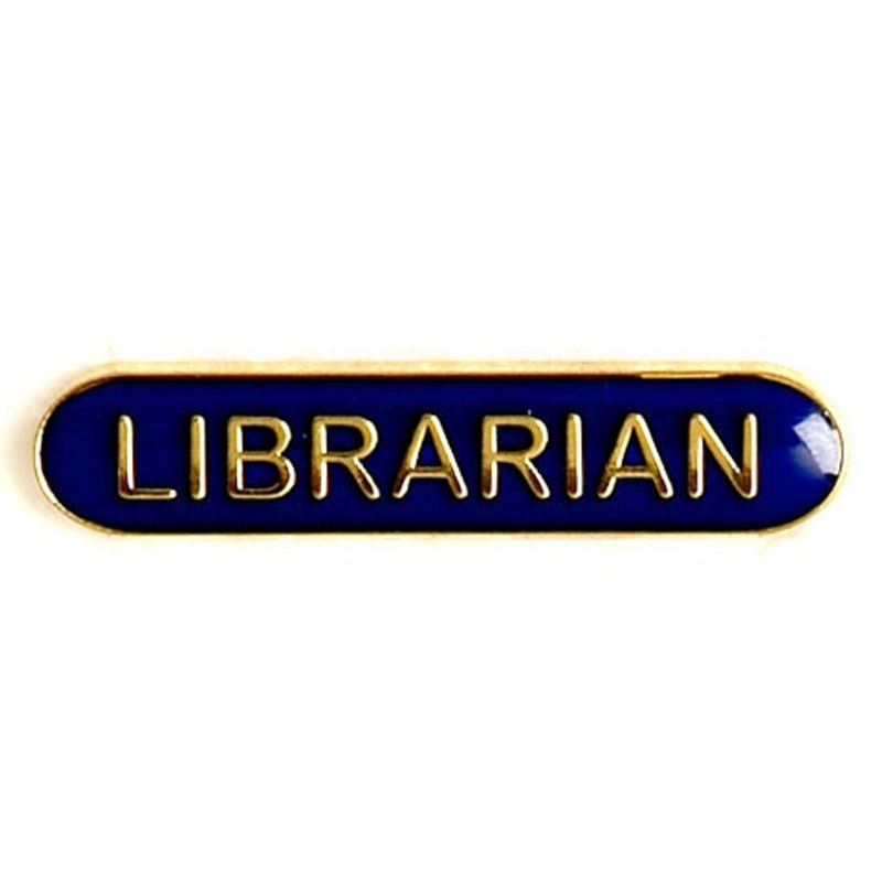 Bar Badge Librarian