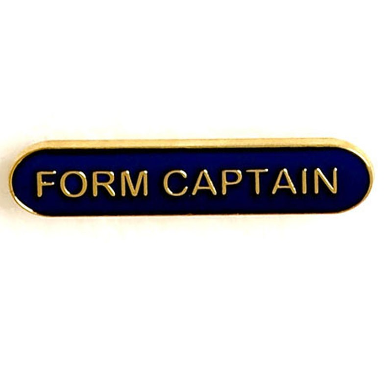 Bar Badge Form Captain