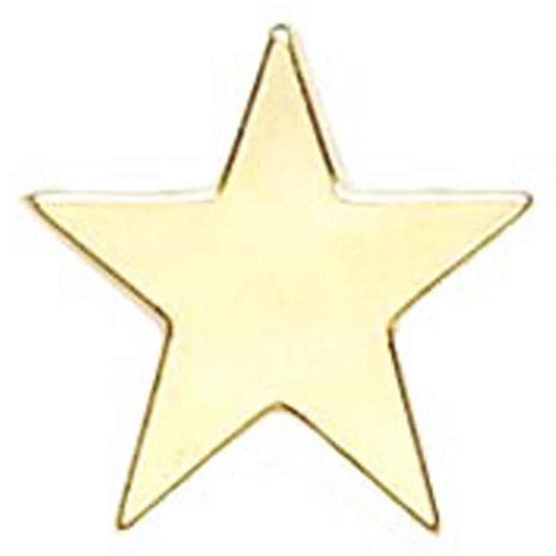 Badge Flat Star