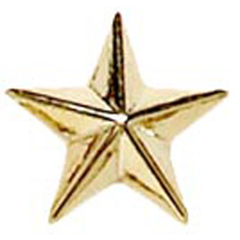 Raised Star Badge