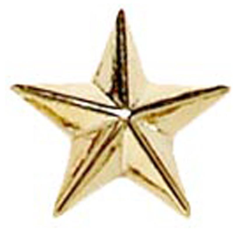 Raised Star Badge
