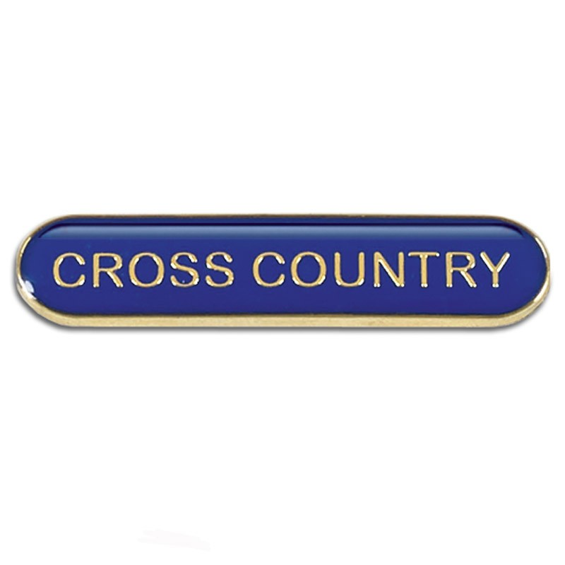 Bar Badge Cross Country