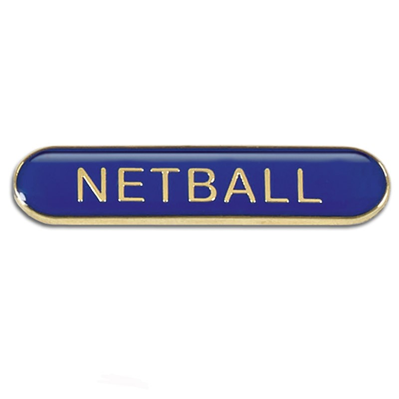 Bar Badge Netball