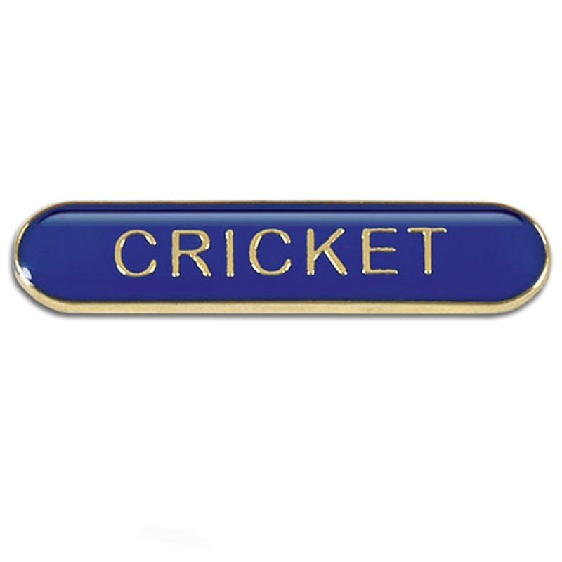 Bar Badge Cricket