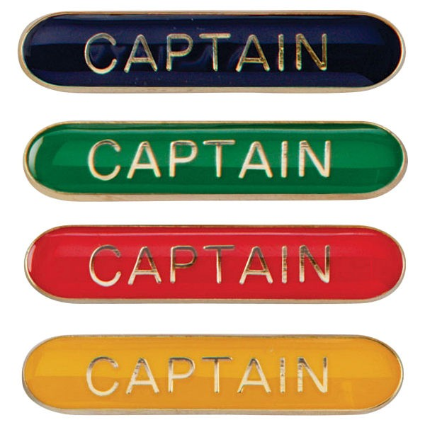 Scholar Bar Badge Captain