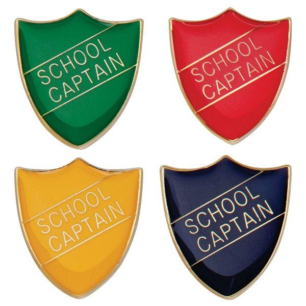 Scholar Pin Badge School Captain