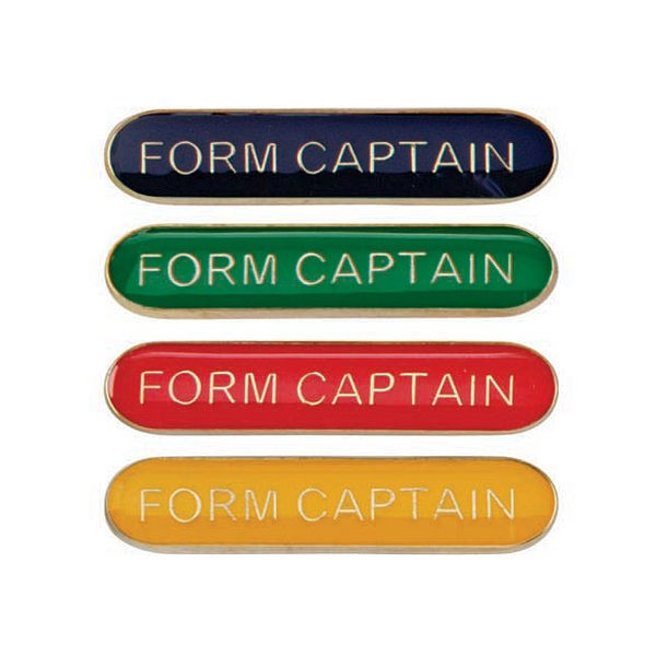 Scholar Bar Badge Form Captain
