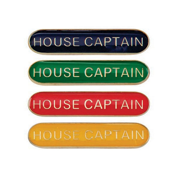 Scholar Bar Badge House Captain