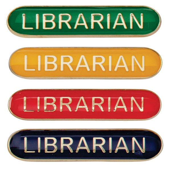 Scholar Bar Badge Librarian