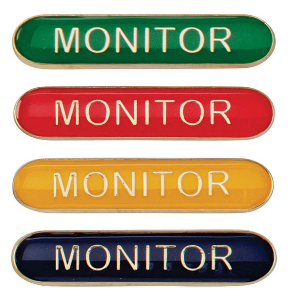 Scholar Bar Badge Monitor