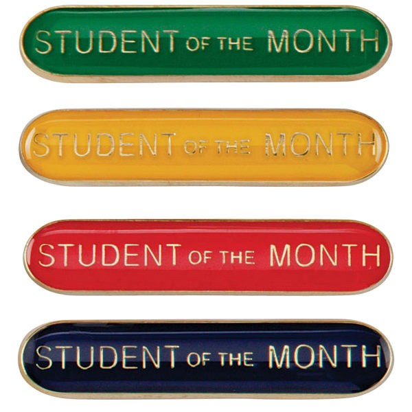 Scholar Bar Badge Student of Month