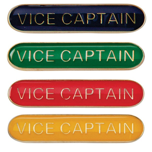 Scholar Bar Badge Vice Captain