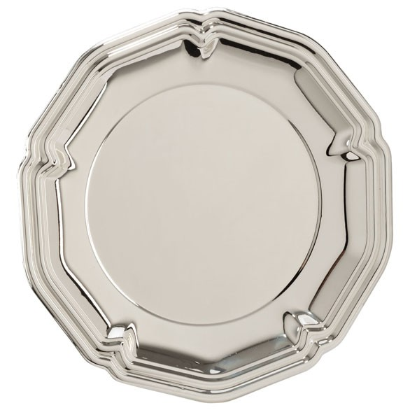 The English Rose Silver Salver