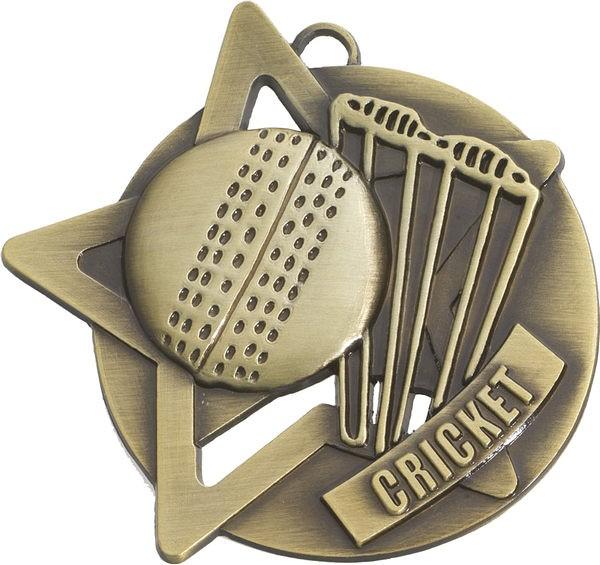 Cricket Star Medal