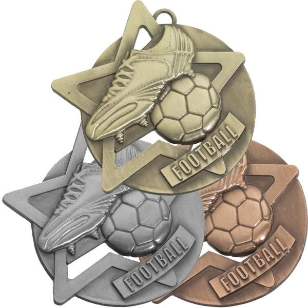 Football Star Medal