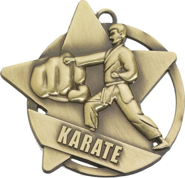 Karate Star Medal