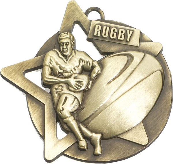 Rugby Star Medal