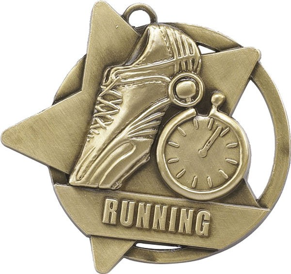 Running Star Medal