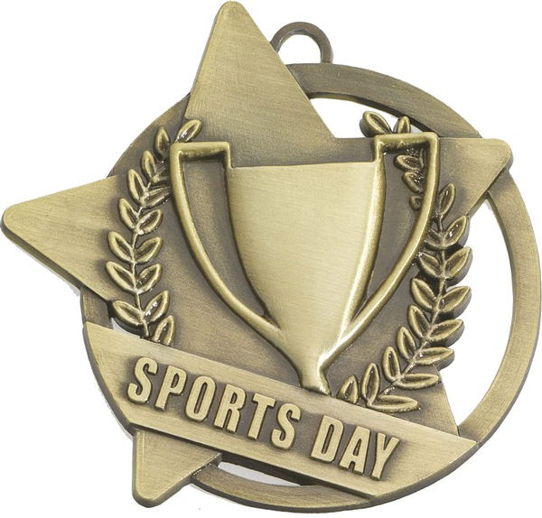 Sports Day Star Medal