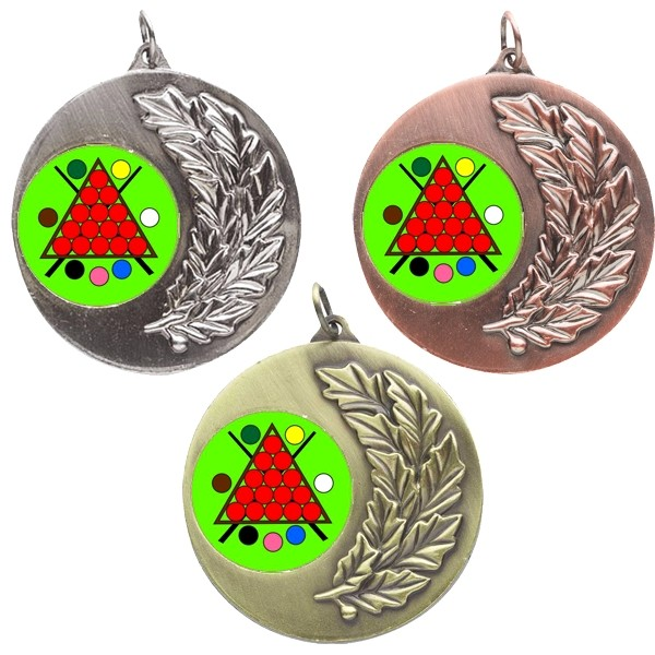 Snooker Laurel Medals