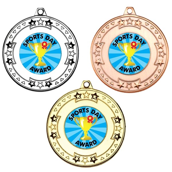 Sports Day Tri Star Medals