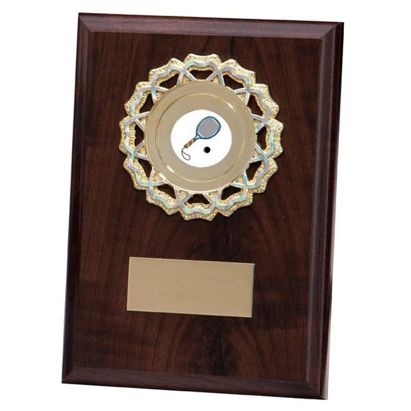 Shannon Cherrywood Plaque with Squash Insert