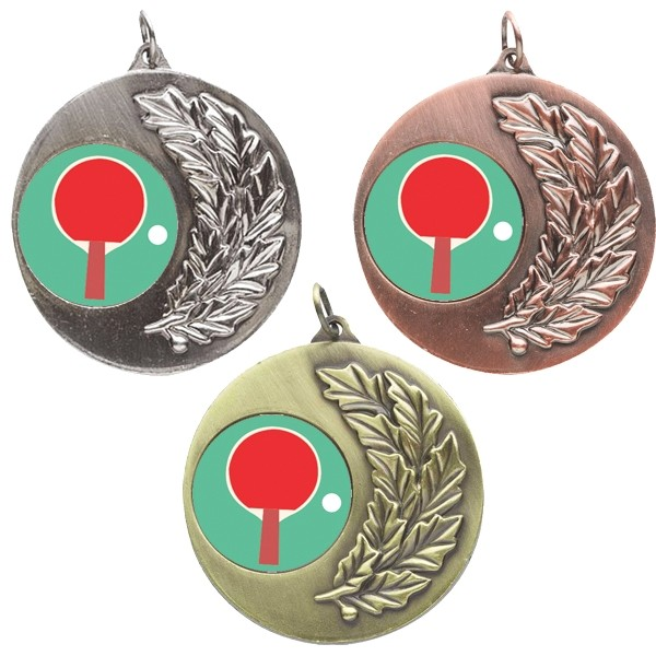 Table Tennis Laurel Medals