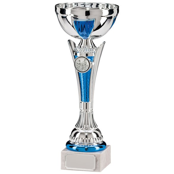 Conquest Silver & Blue Cup